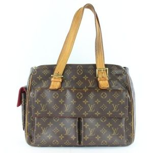 Louis Vuitton 8lz1129 Coated Canvas Shoulder Bag